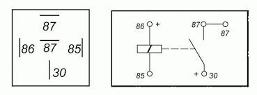 bosch 30 amp relay wiring diagram wiring diagram and schematic