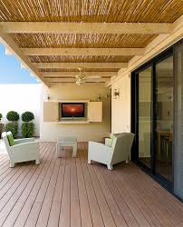 covered decks ideas with ceiling fan deck contemporary and
