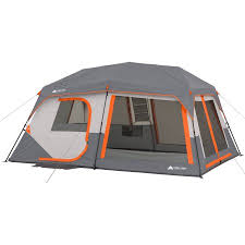 cabin tent ozark trail 14 x 10 x 78 instant cabin tent with light sleeps