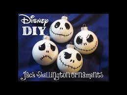 nightmare before christmas decorations diy skellington christmas ornaments easy to make