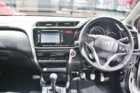 car models com honda city honda city kitted up model with black interior at 2016 auto expo