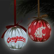 wsu ornaments washington state cougars ornaments