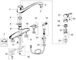 american standard kitchen faucet replacement parts american standard kitchen faucets parts photogiraffe me