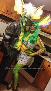 coolest homemade gremlin couple costume halloween costume
