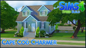 cape cod house the sims 4 speed build cape cod charmer youtube
