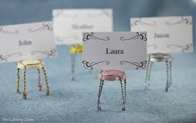 diy table number holders diy place card holders a bit of whimsy the culinary