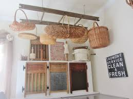 Storage Ideas For Laundry Rooms by Junk Chic Cottage Laundry Room