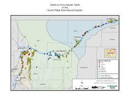 Arizona Aquifer Map by Hb 1278 South Platte Groundwater Study