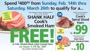 shoprite dinner promo earn a free turkey ham more