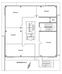 plan des bureaux vues du centre d affaires actiparc à martin de crau 13