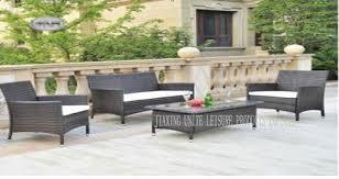 Furniture For Patio Metal Rattan Wicker Furniture Sofa Set For Patio Garden Hotel