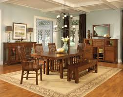 Mission Style Dining Room Set by A America Laurelhurst 42