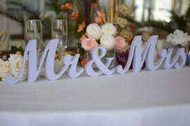 mr and mrs wedding signs wedding sign lavender mr mrs top table decoration signs