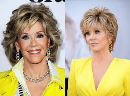 mature women hairstyles over 70 jane fonda mature women short hairstyles trendy hairstyles