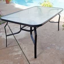 replace glass patio table top with wood the most captivating glass top outdoor table patio furniture glass