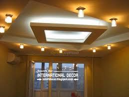 Modern Pop Ceiling Designs For Living Room Modern Pop Ceiling Design With Spot Light For Living