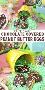 chocolate covered eggs peanut butter eggs