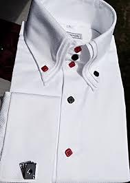 morcouture 3 aces triple collar high collar shirt
