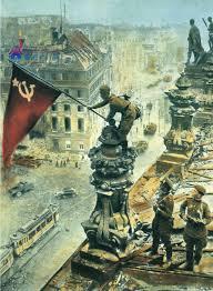 Victoria 2 Flags Soldados Soviéticos Enarbolan La Bandera De La Victoria Sobre El