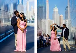 Indian Wedding Photographer Nyc Liberty State Park Engagement Photographer Jersey City New