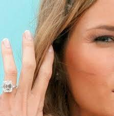 Ivanka Trump Wedding Ring by Best 25 Melania Trump Wedding Ring Ideas On Pinterest Melania