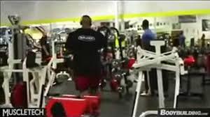Phil Heath Bench Press Phil Heath Training Back Bodybuilding Muscle Fitness Video