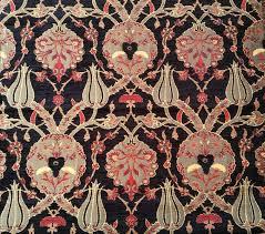 Velvet Chenille Upholstery Fabric Sale By The Meter Yard Tulips Chenille Jacquard Ethnic Tribal