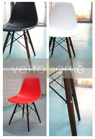 dsw eames style shell chair walnut legs u2013 vetrohome modern