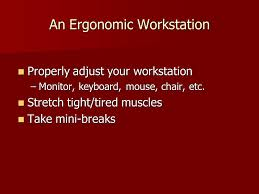 computer workstation ergonomics prevention improper computer