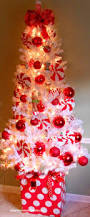 Red And Silver Christmas Tree Decorations Christmas Tree Decorations With Washi Tape Bakers Twine Idolza