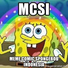 Meme Spongebob Indonesia - mcsi meme comic spongebob indonesia spongebob nobody cares