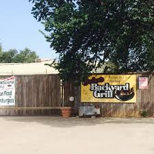 Backyard Grill by Best Texas Burgers John U0027s Backyard Grill Surprisingly Good