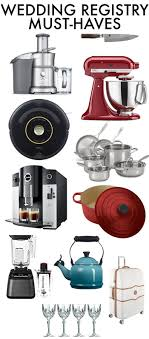bridal registry ideas must wedding registry items s clean kitchen