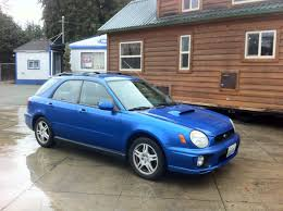 blue subaru hatchback 2002 subaru impreza wrx wagon for sale awd auto sales