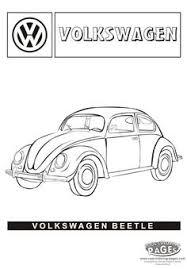 classic vw beetle coloring remember herbie