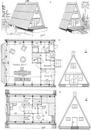 a frame cabin floor plans 47 best a frame house plans images on architecture