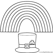 rainbow pot of gold coloring pages lucky leprechaun run with a pot of gold leprechaun coloring pages