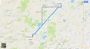 Boulder Colorado Map Nissan Dealership Serving Longmont Co Boulder Nissan