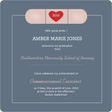 nursing school graduation invitations christmanista