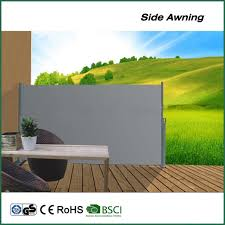 china low price out door canopy patio used side awning alu