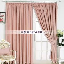 Modern Pink Room Darkening Decorative Living Room Curtains Buy
