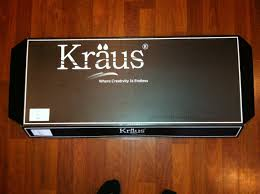 kraus kpf 1612 kitchen faucet packaging u0026 installation