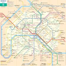 Europe Train Map by Paris Subway Map Paris Metro Map Paris Underground Map Paris