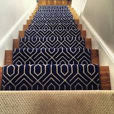 Navy Blue Runner Rug 54 Best Geometric Stair Runners Rugs Images On Pinterest Stair