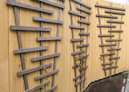 diy fence trellis pretty handy