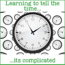 time learning clock learning to tell the time