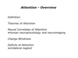 Change Blindness Youtube Notes 1 Extra Credit U2013 Assignment 5 Due December Last Exam