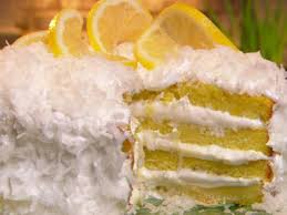 coconut and lemon curd cake recipe paula deen food network