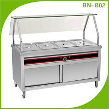 electric table top steam table buffet food warmer for cafeteria equipment made in china buy