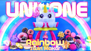 unicorn rainbow unbox daily unicone rainbow swirl maker cute unicorn that